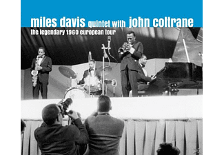 John Coltrane, Miles - Quintet Davis - The Legendary 1960 European Tour - (CD)