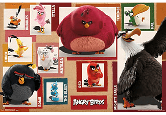 Angry Birds Poster Chart
