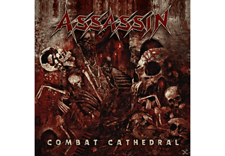 Assassin - Combat Cathedral - (LP + Bonus-CD)