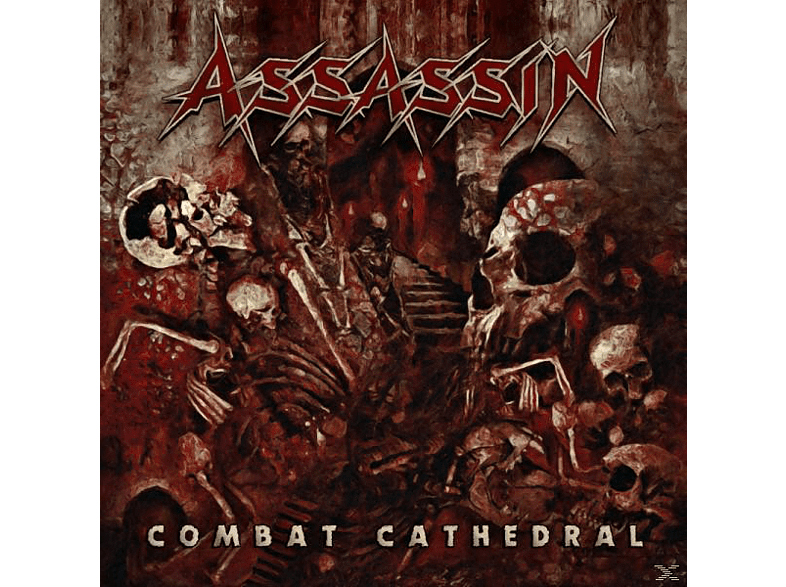 Assassin - Combat Cathedral [CD]