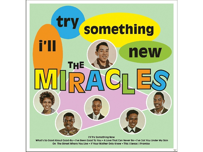 The Miracles - I'll Try Something New [Vinyl]