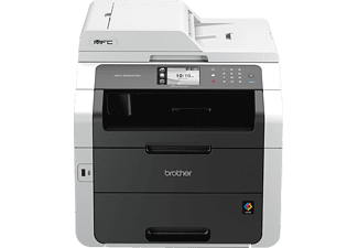 BROTHER MFC-9342CDW, 4-in-1 LED-Multifunktionsdrucker (Farbe), Grau