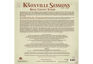 VARIOUS - The Knoxville Sessions 1929-30,Knox County Stomp - (CD + Buch)