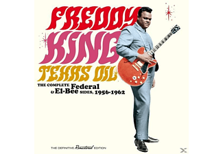 Freddy King - Texas Oil-The Complete Federal & El-Bee Sides,1 - (CD)