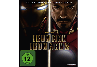 Iron Man 1+2 - (DVD)