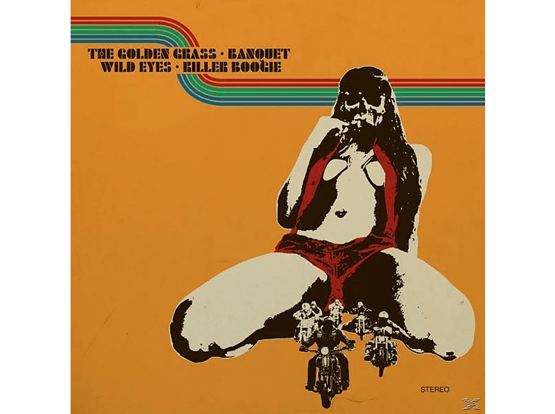 The Golden Grass, Banquet, Killer Boogie, Wild Eyes - Split (Limited Edition) [Vinyl]