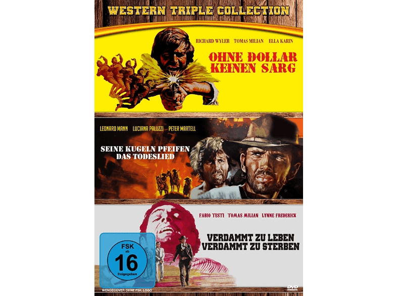 Western Triple Collection [DVD]