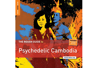VARIOUS - Rough Guide: Psychedelic Cambodia - (LP + Download)