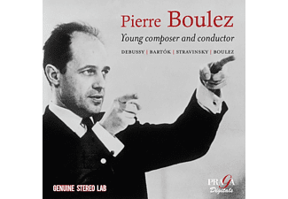 Pierre/BBC Symphony Chorus & Orch./+ Boulez - Young Composer And Conductor - (CD)