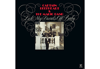 Captain Beefheart and The Magic Band - Lick My Decals Off, Baby (Vinyl LP (nagylemez))