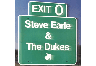 Earle, Steve & Dukes, The - Exit 0 (Back To Black Ed.+DL-Code) - (Vinyl)