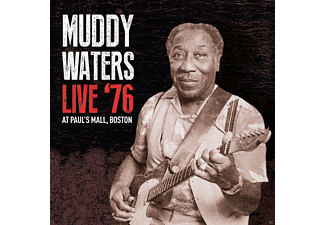 Muddy Waters - Live 76 At Pauls Mall,Boston - (CD)