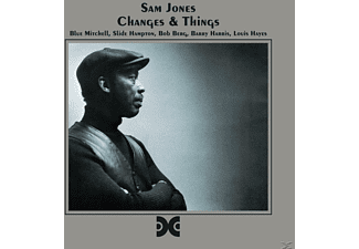Sam Jones - Changes & Things - (CD)