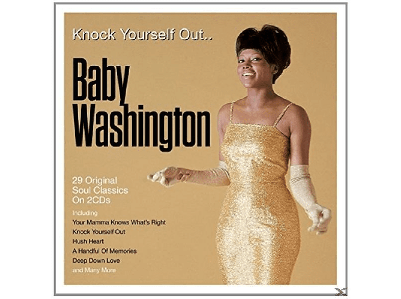 Baby Washington - Knock Yourself Out [CD]