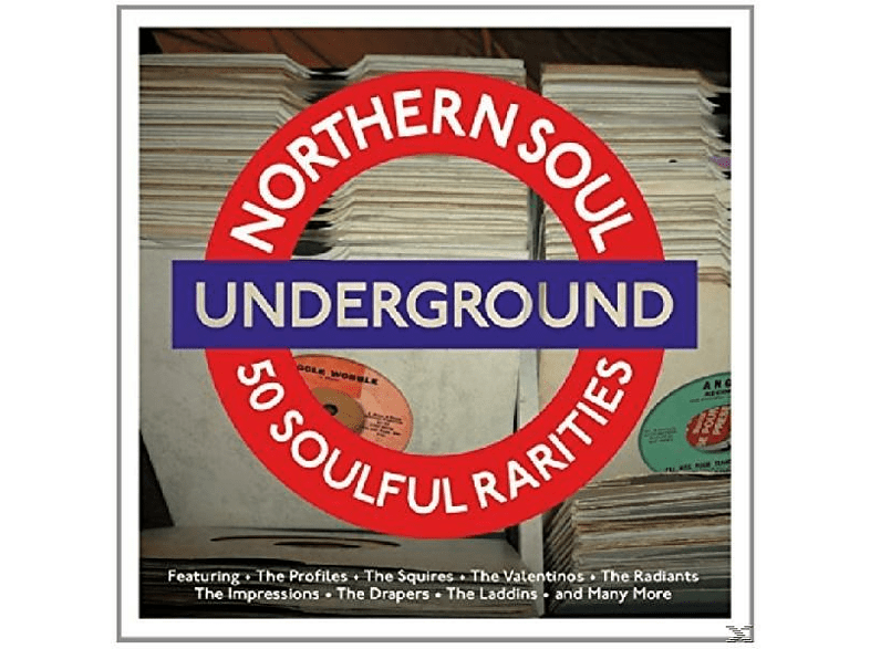 VARIOUS - Northern Soul Underground [CD]