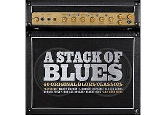 VARIOUS - A Stack Of Blues [CD]