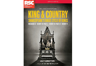 Royal Shakespeare Co - King & Country - (DVD)