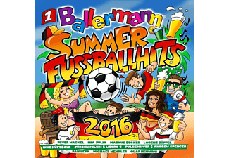 VARIOUS - Ballermann Summer-Fußball Hits 2016 - (CD)