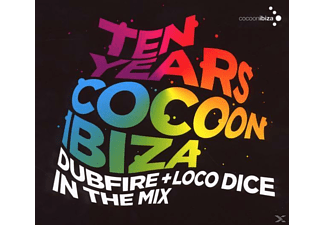 Dubfire & Loco Dice - Ten Years Cocoon Ibiza - (CD)