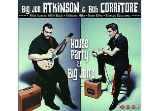 Big Jon Atkinson, Bob Corritore - House Party At Big Jon's - (CD)