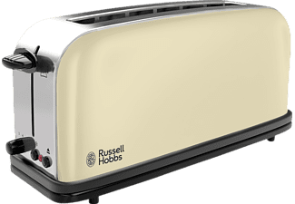RUSSELL HOBBS 21395-56 Colours Classic Cream, Toaster, 1100 Watt