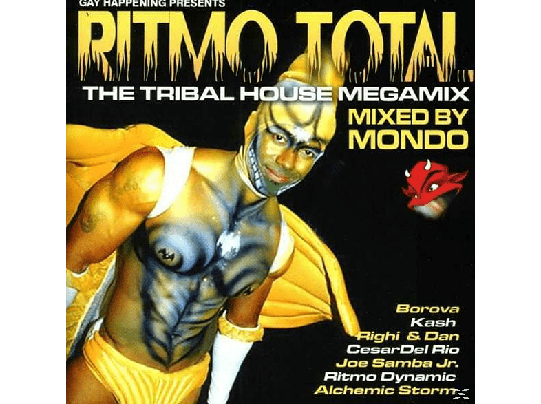VARIOUS - Ritmo Total (The Tribal House Megamix) [CD]