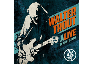 Walter Trout - ALIVE in Amsterdam (3LP 180 Gr.+MP3) - (LP + Download)