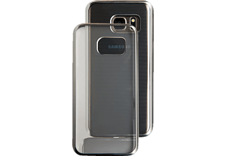 SPADA Electro-Style Backcover Samsung Galaxy S7 Kunststoff Silber