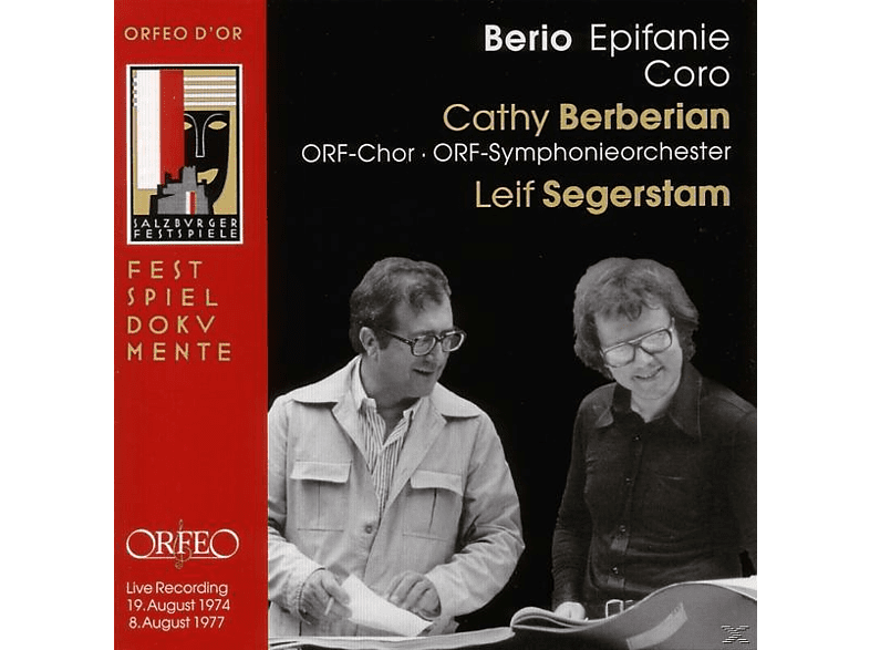 Cathy Berberian, Orf-chor, Orf-symphonieorchester, Le Segerstam - Epifanie/Coro [CD]