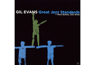 Gil Evans - Great Jazz Standards + New Bottle, Old Wine - (CD)