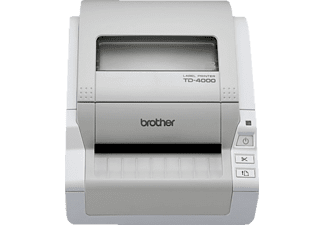 BROTHER TD-4000, Etikettendrucker, Grau