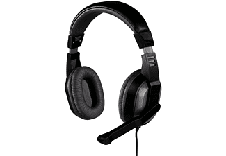 HAMA Offbeat, PC-Headset, 2 m, Grau