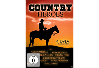 VARIOUS, Glen Campbell, Willie Nelson, Murray Anne - Country Heroes - (DVD)