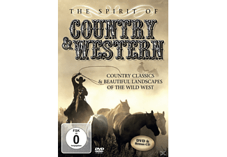 VARIOUS - The Spirit Of Country & Western - (DVD)
