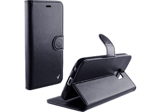 VOLTE-TEL Θήκη LG K10 K420  Leather-Tpu Book Stand Black- (5205308162220)