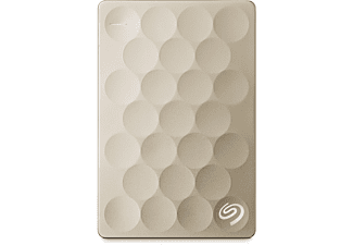 SEAGATE Backup Plus Ultra Slim 2TB Goud