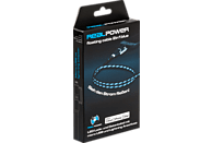 REALPOWER LED Floating 2in1, Lade-Datenkabel, Schwarz/Blau