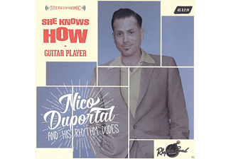 Nico/his Rhythm Dudes Duportal - She Knows How/Guitar Player - (Vinyl)