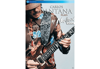 Carlos Santana - Carlos Santana Plays Blues At Montreux 2004 - (DVD)