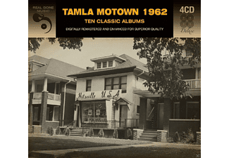 VARIOUS - Tamla Mowtown 1962-10 Classic Albums - (CD)