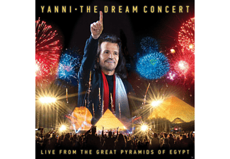 Yanni - The Dream Concert:Live F.T.Great Pyramids Of Egypt - (CD + DVD)
