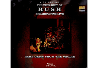 Rush - Rare Gems From The Vault: Rush Broadcasting Live - (CD)
