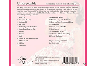 Nat King Cole - Unforgettable-50's Iconic Classics Of Nat King Col [CD]