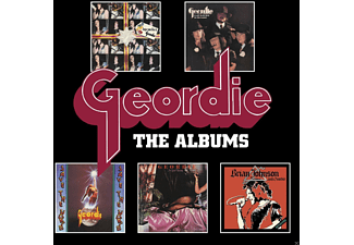 Geordie / Brian Johnson - The Albums-Deluxe 5 CD Box Set - (CD)