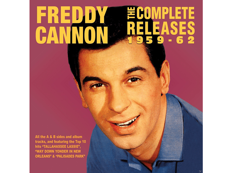 Freddy Cannon - The Complete Releases 1959-62 [CD]