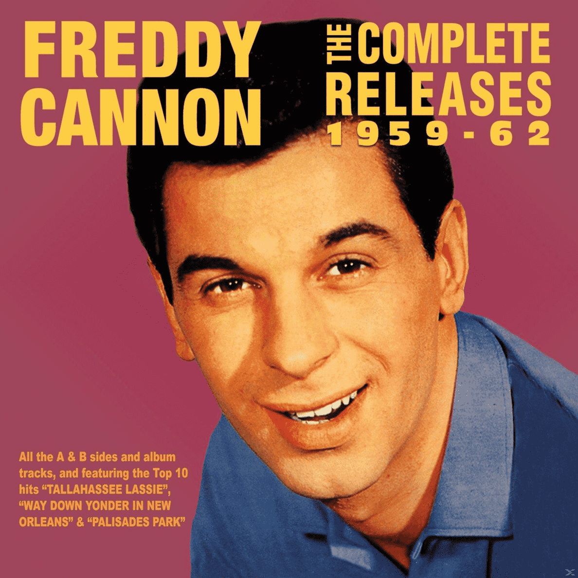 Freddy Cannon - The Complete Releases 1959-62 - (CD)