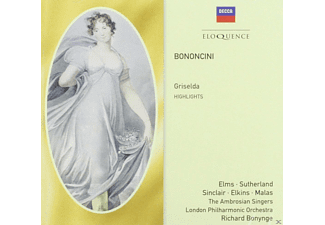 Lauris Elms, Joan Sutherland, Margareta Elkins, Spiro Malas, Monica Sinclair, The London Philharmonic Orchestra - Griselda (Highlights) - (CD)