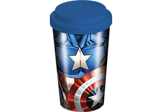 Marvel Travel Mug Captain America Coffee-To-Go-Becher