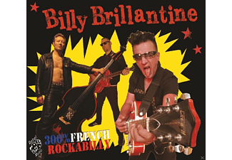Billy Brillantine & The Bandit Rockers - 300 % French Rockabilly - (CD)
