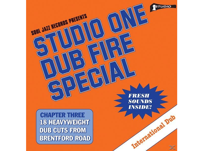 Dub Specialist - Studio One:Dub Fire Special [CD]